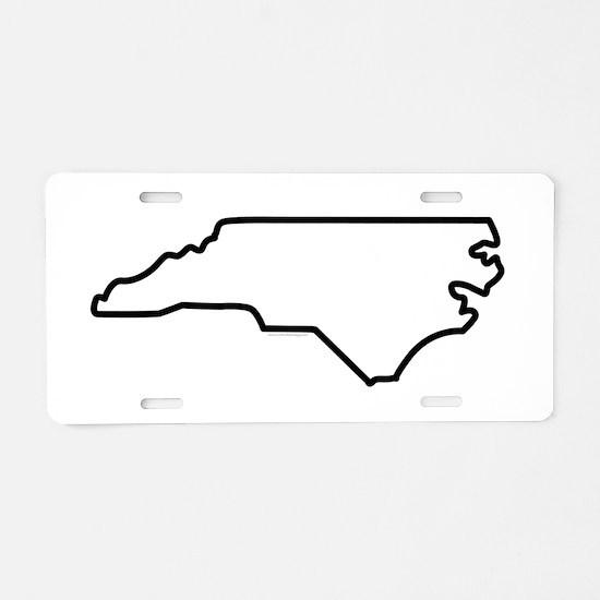 Home North Carolina-01 Aluminum License Plate