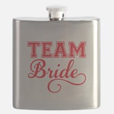 Team Bride Flask