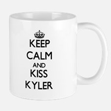 Keep Calm and Kiss Kyler Mugs
