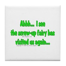 Screw-up Fairy Tile Coaster