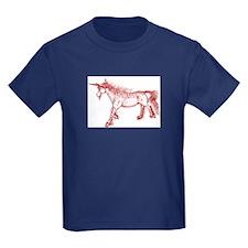 Zephyr Unicorn Red Ochre T