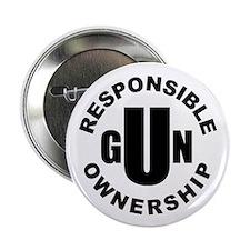 "Gun Responsibility 2.25"" Button (10 Pack)"