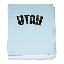 Utah baby blanket