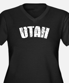 Utah White Plus Size T-Shirt