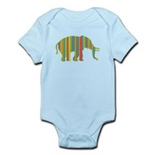 ELEPHANT COORDINATES Infant Bodysuit