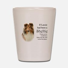 Timmy's Sheltie Shot Glass