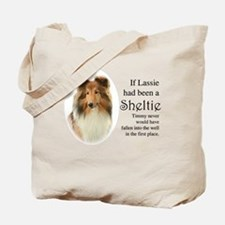 Timmy's Sheltie Tote Bag