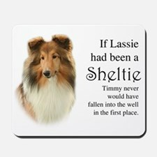 Timmy's Sheltie Mousepad