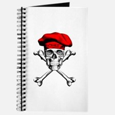 Red Culinary Chef Skull Journal
