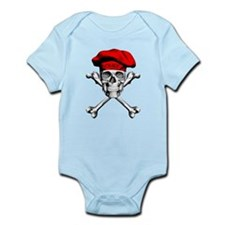 Red Culinary Chef Skull Body Suit