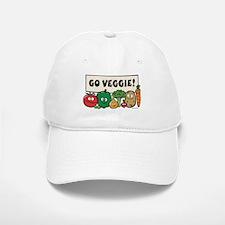 Go Veggie! Baseball Baseball Cap