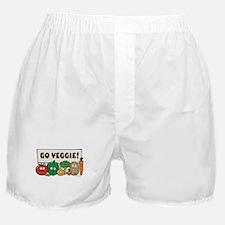 Go Veggie! Boxer Shorts