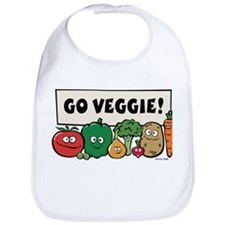 Go Veggie! Bib