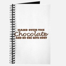 Hand over the chocolate Journal