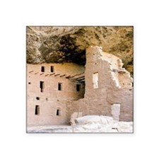 "Mesa Verde  Square Sticker 3"" x 3"""