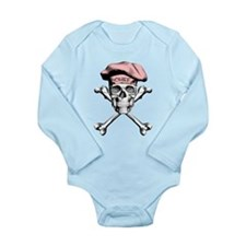 Pink Culinary Chef Skull Body Suit