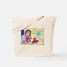 Escape Key Humor Tote Bag