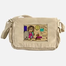 Escape Key Humor Messenger Bag