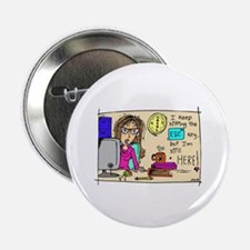 "Escape Key Humor 2.25"" Button (100 pack)"