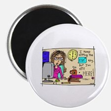 "Escape Key Humor 2.25"" Magnet (100 pack)"