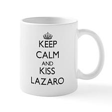 Keep Calm and Kiss Lazaro Mugs