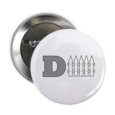 "D Fence (Defense) 2.25"" Button"