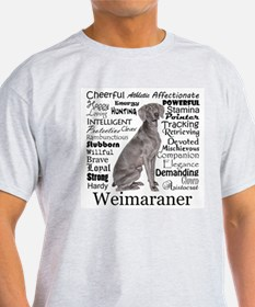 Weimaraner Traits T-Shirt