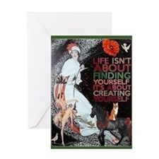 Yourself Card Greeting Cards