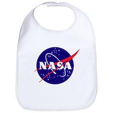 NASA Meatball Logo Bib