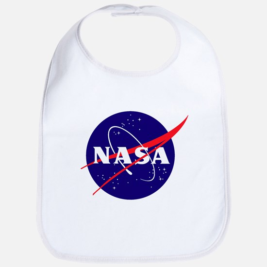 NASA Meatball Logo Bib