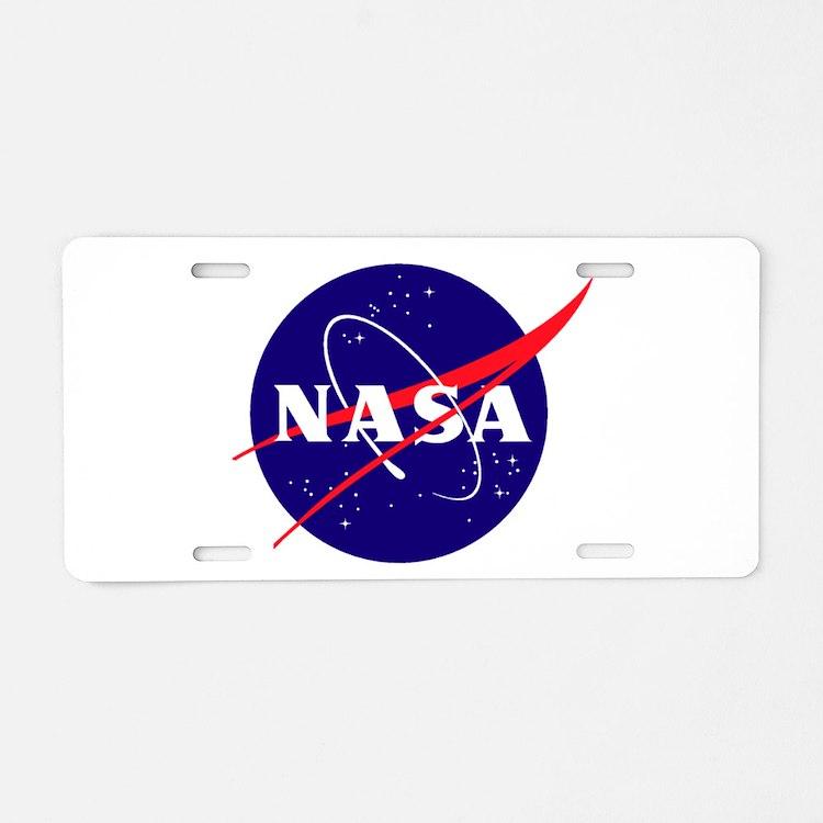Nasa License Plates | Nasa Front License Plate Covers ...