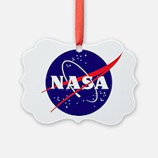 NASA Meatball Logo Ornament