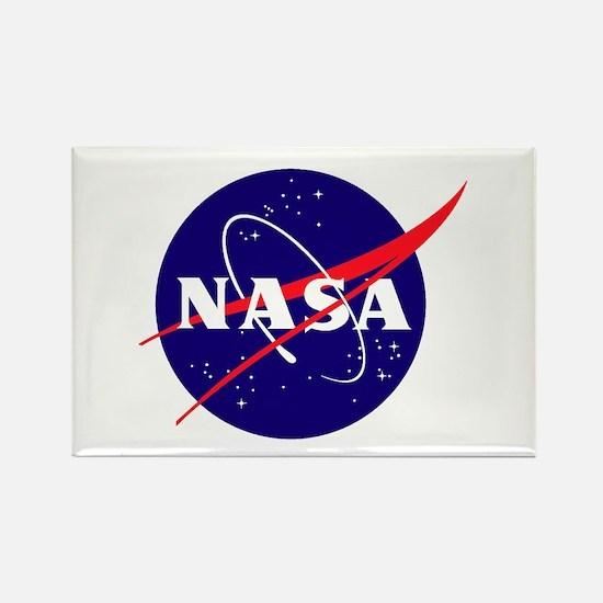 NASA Meatball Logo Rectangle Magnet