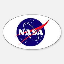 NASA Meatball Logo Decal