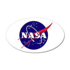 NASA Meatball Logo Wall Decal