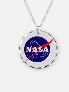 NASA Meatball Logo Necklace