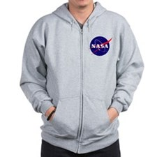 NASA Meatball Logo Zip Hoodie