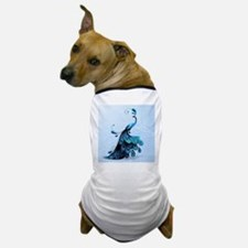 Elegant Peacock Dog T-Shirt