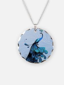 Elegant Peacock Necklace