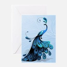 Elegant Peacock Greeting Cards