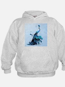 Elegant Peacock Hoodie