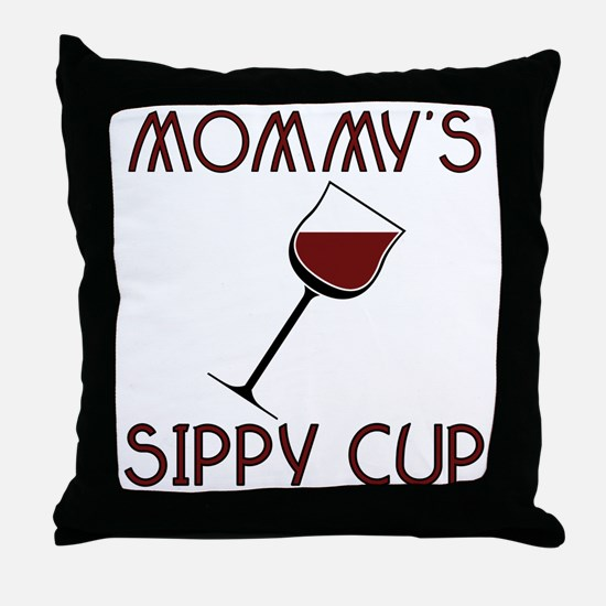 mommy's Throw Pillow