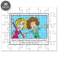 Crazy Best Friends Puzzle