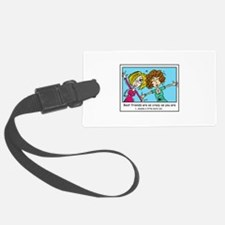 Crazy Best Friends Luggage Tag