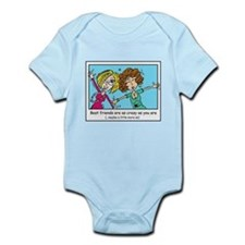 Crazy Best Friends Infant Bodysuit