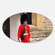 Queen's Guard Sticker (Oval)