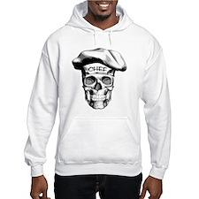 white Chef Skull Hoodie