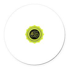 Prophet Muhammad (SAW) Round Car Magnet
