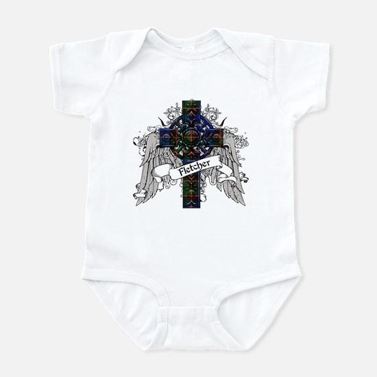 Fletcher Tartan Cross Infant Bodysuit