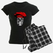 Red CHef Skull Pajamas